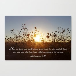 In All Things Canvas Print