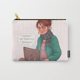 Cath writing Carry On Carry-All Pouch
