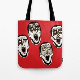 Kiss Cage Tote Bag