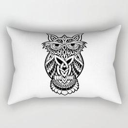 Owl Celtic Tribal Rectangular Pillow