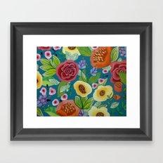 Flora Form Framed Art Print