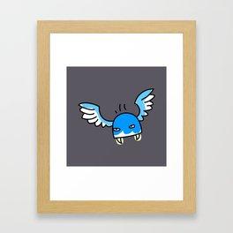 Flying biter Framed Art Print