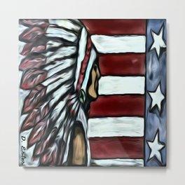 Native American Ancestry Metal Print