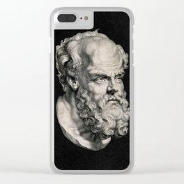 Socrates, 1638 Clear iPhone Case