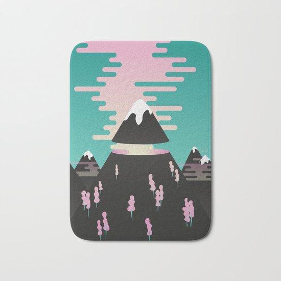 Enchanted mountains Bath Mat