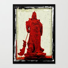 General's Red Rage Canvas Print