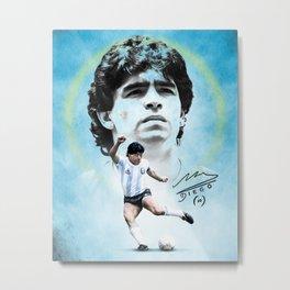 Diego Armando Maradona - Argentina Metal Print