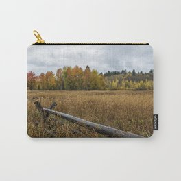 Rainy Fall Day in Wyoming - Grand Tetons Carry-All Pouch