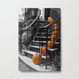 Pumpkins Ascend Metal Print