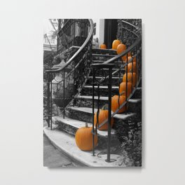 Pumpkins Ascend Metal Print