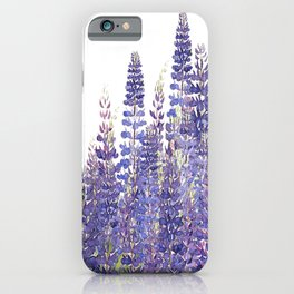Just Lupine iPhone Case