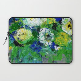 Abstract Floral - Botanical Laptop Sleeve