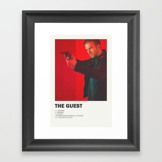 The Guest Framed Art Print