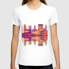 Lille France Skyline T-shirt