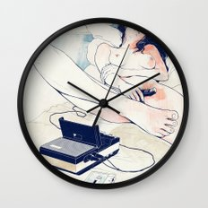 Nothing to say Wall Clock