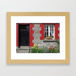 Cottage Window Framed Art Print