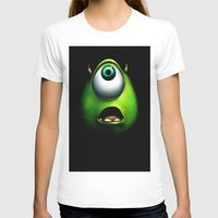 mike wrobel T-shirts featuring mike wazowski by Dan Solo Galleries
