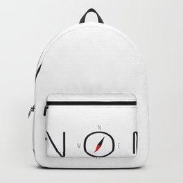 Nomad - Compass Art Adventure Travel #Vanlife  Backpack