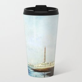 On The Front Textured Fine Art Photograpy Travel Mug