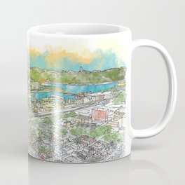 Pittsburgh Aerial Coffee Mug