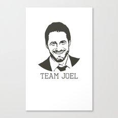 Team Joel Canvas Print