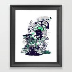 An Inevitable Twist Of Fate Framed Art Print
