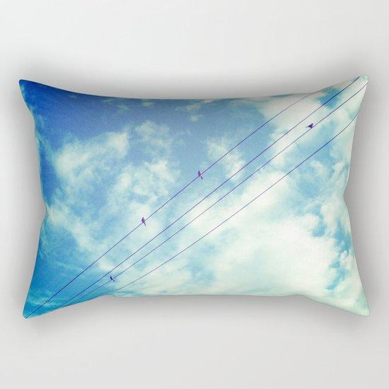 Charging Rectangular Pillow