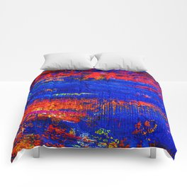 10 - Abstract Epic Colored Moroccan Artwork. Comforters