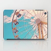 ferris wheel iPad Cases featuring Ferris Wheel by Katie_Photography