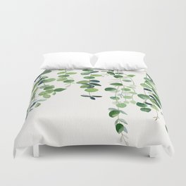 Eucalyptus Watercolor 2  Duvet Cover