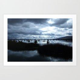 Lake Titicaca (Peru) Art Print