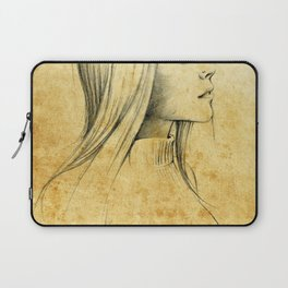 Girl with Nose Pin - 3 Laptop Sleeve