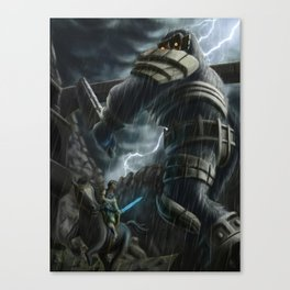 There will be just one left Canvas Print