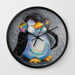 Music warms me Wall Clock