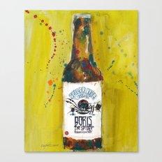 Spider Bite Beer Co. Canvas Print