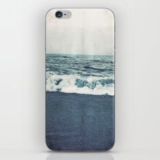 retro ocean iPhone & iPod Skin
