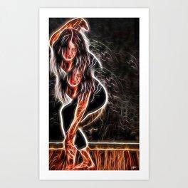 Fluidity#1 Art Print