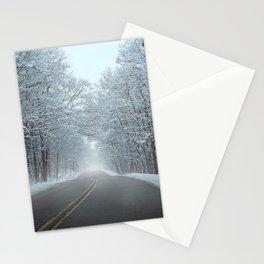 Winter Scene Stationery Cards