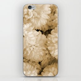 Monochrome Abstract Mums iPhone Skin