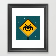 Road Sign Framed Art Print
