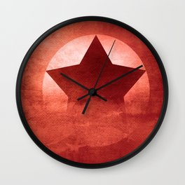 Star Composition II Wall Clock