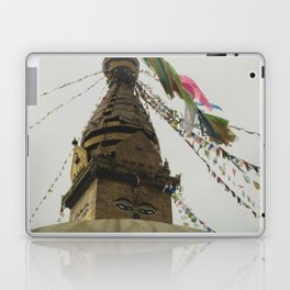 Exploring the City of Kathmandu in Nepal Laptop & iPad Skin
