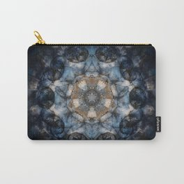 Inner World Mandala Abstract Design Carry-All Pouch
