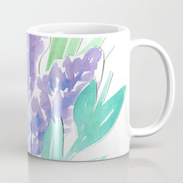 Lavender Floral Watercolor Bouquet Coffee Mug