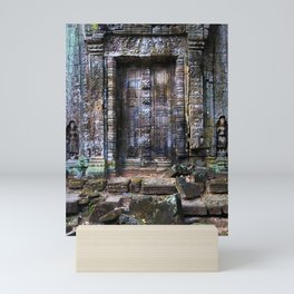 Blind Portal to Ancient Temple Mini Art Print