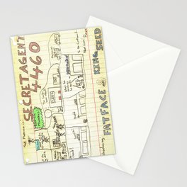 Max Morrocco: Issue 1 Stationery Cards