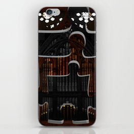 Distracting a Ghost: 1st Rendition  iPhone Skin
