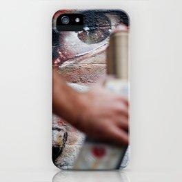 Herakut, London 2010 iPhone Case