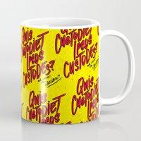 watchmen Mugs featuring Watchmen by Chelsea Herrick