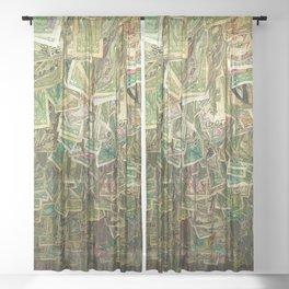 Money Sheer Curtain